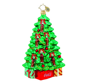 RADKO 1015669 TREELIGHT DELIGHT - TREE WITH COCA COLA BOTTLES - NEW 2011 (11-15)