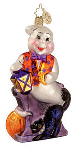 RADKO 1012659 LIFTED SPIRIT - GHOST - HALLOWEEN - RETIRED ORNAMENT