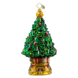 RADKO 1016310 OH CHRISTMAS TREE - CLASSIC CAROLS COLLECTION - NEW 2012 (12-1)
