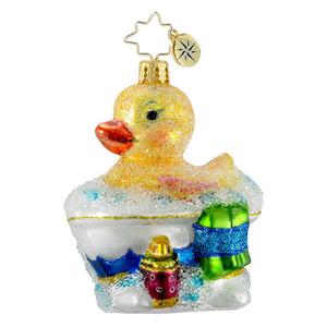 RADKO 1016197 SPLASH TIME GEM - RUBBER DUCKIE - NEW 2012 (20)