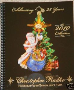 RADKO 2010 CATALOG - 112 COLOR PAGES - SPIRAL BOUND
