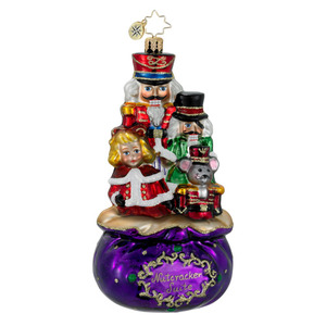 RADKO 1016046 COMPLETE SUITE - THE NUTCRACKER SUITE ORNAMENT - NEW 2012 (12-6)