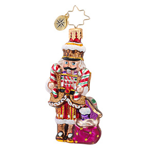 RADKO 1016752 SIR SWEET TOOTH GEM - NUTCRACKER COOKIE & CANDY ORNAMENT - NEW 2013 (21)