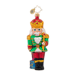 RADKO 1016838 STAND AND DELIVER - NUTCRACKER ORNAMENT - NEW 2013 (13-16)
