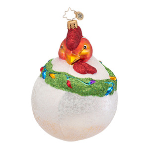 RADKO 1016791 HENRIETTA - CHICKEN - HEN ORNAMENT - NEW 2013 (13-14)