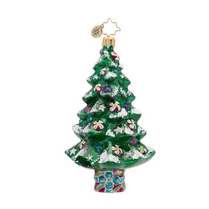 RADKO 1016810 SPARKLE SPRUCE - CANDY TREE ORNAMENT - NEW 2013 (13-15)