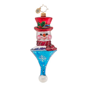 RADKO 1016823 ICICLE SMILES - CLASSIC RADKO SNOWMAN ORNAMENT - NEW 2013 (13-15)