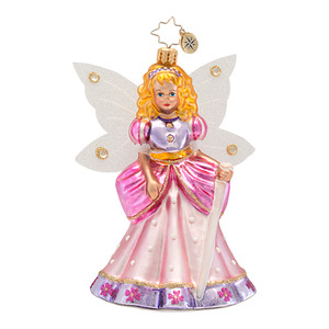RADKO 1016800 FAIRY PRINCESS - JEWELED CHILDREN'S ORNAMENT - NEW 2013 (13-15)