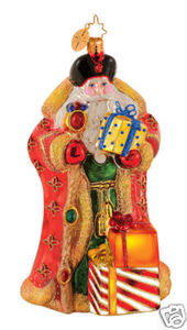 RADKO 1014622 SIBERIAN STANCE - SANTA - LIMITED EDITION - RETIRED ORNAMENT (G1)