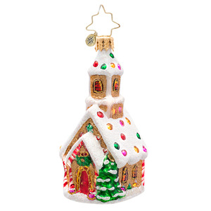 RADKO 1017208 CANDIED CATHEDRAL GEM - CANDY CHURCH ORNAMENT - NEW 2014 (22)