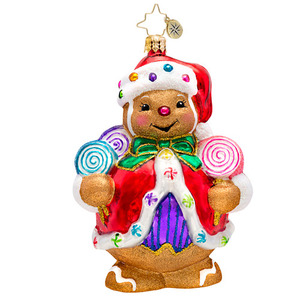 RADKO 1017187 GINGER SWEET CLAUS - GINGERBREAD MAN ORNAMENT - NEW 2014 (14-7)