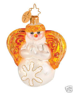 RADKO 1014440 SNOW ANGEL GEM - RETIRED ORNAMENT (17)