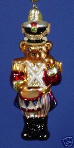 RADKO 02-0704-0 RUM TUM TEDDY GEM - BEAR - RETIRED ORNAMENT (10)