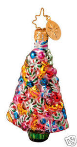 RADKO 1013486 SWEET TREATS GEM - CANDY TREE - RETIRED ORNAMENT (14)