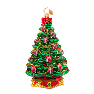 RADKO 1017566 NOBLE FIR - TREE WITH JEWELS ORNAMENT - NEW 2015 (15-3)