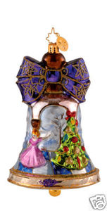 RADKO 1014019 BELLS OF THE BALL - BELLS OF CEDAR HILL - DANCERS - RETIRED ORNAMENT (GG3)