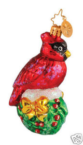 RADKO 1014437 HOLLY NEST REST GEM - CARDINAL - RETIRED ORNAMENT (17)