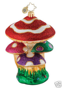RADKO 1015149 A GNOME'S HOME - MUSHROOMS - NEW 2010 (Q1)