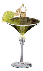 RADKO 1012019 MINI HAPPY HOUR - LIME - COCKTAIL DRINK - RETIRED ORNAMENT (A)