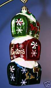 RADKO 1011962 NORTH POLE POST - MAILBOXES - RETIRED ORNAMENT (S)