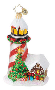 RADKO 1015037 MERRY BEACON - LIGHT HOUSE - SUMMER - CHRISTMAS TREE - NEW 2010 (Q6)