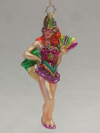 RADKO 1010020 CARNIVAL CUTIE - MARDI GRAS - NEW 2003 - RETIRED ORNAMENT (DD)