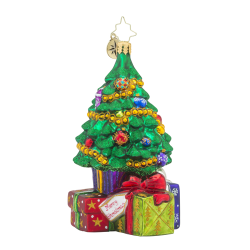 RADKO 1018171 SURPRISES AWAIT! - TREE AND GIFTS ORNAMENT - NEW 2016 (16 - 4)