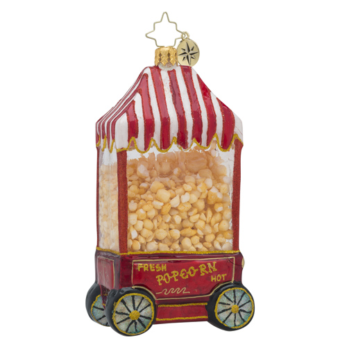 RADKO 1018433 POPPIN' FRESH - HOT POP - POPCORN MACHINE ORNAMENT - NEW 2016 (16 - 12)