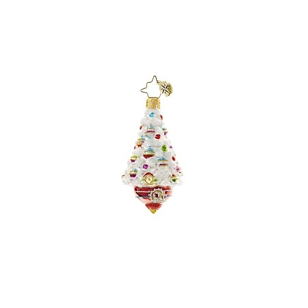 RADKO 1018654 ADORNED FROSTED DELIGHT GEM - TREE ORNAMENT - NEW 2017 (25)