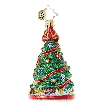 RADKO 1018747 FESTOONED FIR GEM - TREE ORNAMENT - NEW 2017 (25)