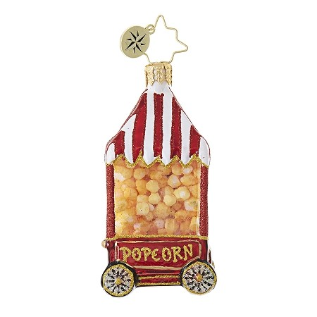 RADKO 1018752 HOT POP GEM - POPCORN MACHINE ORNAMENT - NEW 2017 (25)