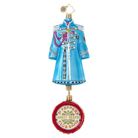 RADKO 1019033 PAUL MCCARTNEY'S SGT. PEPPER'S COAT - BEATLES COLLECTION - COAT WITH DRUM DANGLE ORNAMENT - NEW 2017 (17-5)