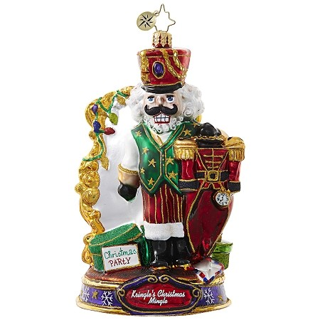 RADKO 1019078 WHAT SHOULD I WEAR? - KRINGLE'S CHRISTMAS MINGLE - THE NUTCRACKER PICKS HIS CLOTHES ORNAMENT - NEW 2017 (17-1)