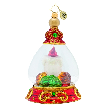 RADKO 1019708 ROYAL RED LANTERN - LIMITED EDITION OF 212 - CANDLE IN JEWELED DOME ORNAMENT - NEW 2019 (19-1)