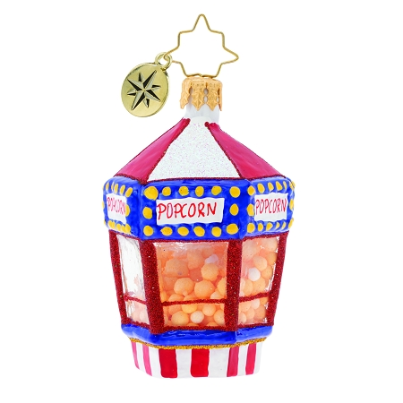 RADKO 1019753 A CHRISTMAS CONCESSION GEM - POPCORN STAND ORNAMENT - NEW 2019 (27-5)