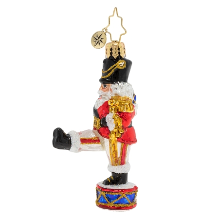 RADKO 1020236 PARADING NUTCRACKER GEM - STEPPING NUTCRACKER ORNAMENT - NEW 2020 (28-3)