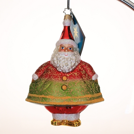 RADKO 3011562A MERRY MAXIMUS - SALES REP DESIGNER FOR A DAY JEFF C. - EXCLUSIVE SANTA ORNAMENT - NEW 2007 (MAX)