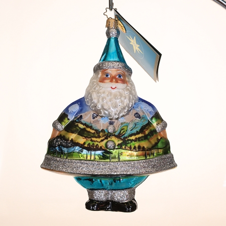 RADKO 3011575 MERRY MAXIMUS - SALES REP DESIGNER FOR A DAY TODD B. - EXCLUSIVE SANTA ORNAMENT - NEW 2007 (MAX)